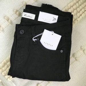 SOLD   KanCan Distressed Black Jeans